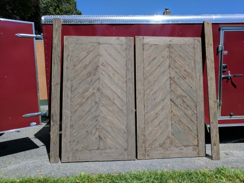 Custom Sliding Barn Door Wood Touch
